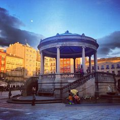 David @ Plaza del Castillo #Pamplona #Navarra