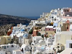 The Village of Oia, Santorini