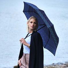 Doppler Magic Mini Carbon MASCHA Satin - luxusní plně automatický dámský deštník Ladies Umbrella, Satin, Women's Umbrellas, Mini, Dresses, Design, Fashion, Vestidos, Moda