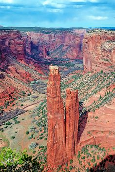 Spider Rock - Canyon de Chelly - Arizona