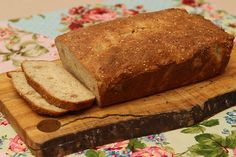 Such delicious LCHF, low carb bread! I had to quickly freeze it and put it away to avoid eating it all in one sitting :)