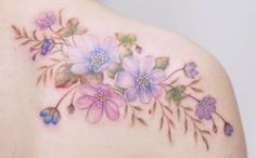 Delicate Floral Tattoo Designs by Tattooist Silo