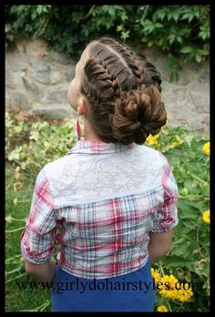 Voilà 20 Modèles De Coiffures Pour Vos Petites Filles | Coiffure simple et facile