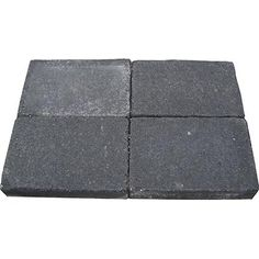 Decor trommelsteen antraciet 20 x 30cm | Praxis