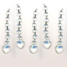 5 Pieces Diamond Hanging Crystal Garland Wedding Strand with Prism Pendant 6 Inches by CrystalPlace, http://www.amazon.com/dp/B00AQ6MEIE/ref=cm_sw_r_pi_dp_7mqirb1W79M0A