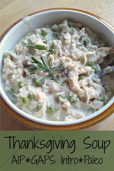 Thanksgiving Soup (AIP, GAPS Intro, Paleo) | How We Flourish