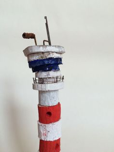 Airport control tower hand made in West-Cork, Ireland from driftwood. Airport Control Tower, West Cork, Cork Ireland, Driftwood, Buildings, Miniatures, How To Make, Handmade, Crafts