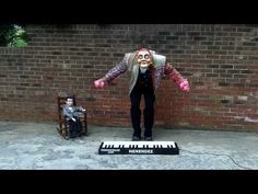 Playing the piano with Juggling balls.  Holy Cow!