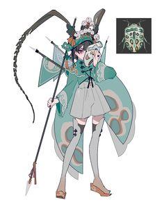 藤さん (@aibivy_ivy) / Twitter Fantasy Character Design, Character Design Inspiration, Character Concept, Character Art, Concept Art, Character Costumes, Pretty Art, Cute Art, Anime Drawings Sketches