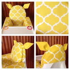 Fillybilly high chair cover for the IKEA Antilop high chair. Water & fade resistant fabric, wipeable & machine washable. Made to order. www.facebook.com/fillybillybaby