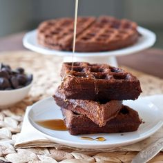 Brownie Waffles