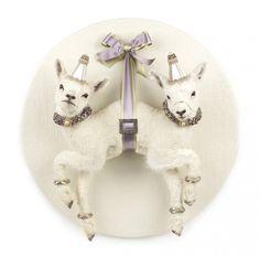 """Atelier Les deux garçons frequently present animal sculptures witht deer, lambs, piglets and other animals as siamese twins or multiples. Animal Sculptures, Sculpture Art, Taxidermy Decor, Chandelier Art, Creepy Cute, Magazine Art, Art Fair, Cute Art, Art Inspo"