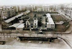 1930 - Fábrica Elizalde, entre las calles Rosellón, Córcega y Bailén