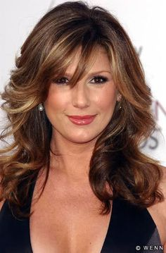 highlights for women over 40 brown hair - Google Search