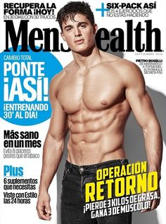 PIETRO BOSELLI SIZZLES ON THE COVER OF 'MENS HEALTH' ESPAÑA