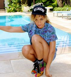BB custom-made boots Beyoncé Style <3