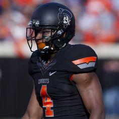 2012 Oklahoma State Throwback Helmet Black Uniform