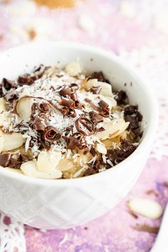 This Almond Joy Rice Pudding is perfect for when you want to indulge a little, but keep it light. @samsclub #SamsClubMag [ad]