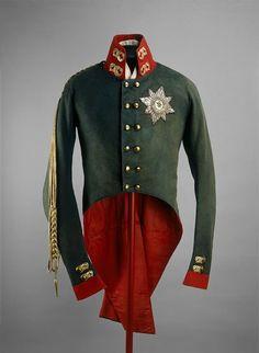 Коронационный мундир императора Александра I, 1801 г.