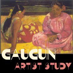 Artist study of Gauguin.