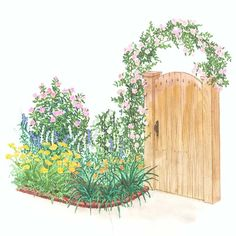 Romantic Arbor Garden
