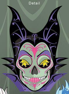 Sugar Skull Villains Poster by Mickel Yantz — Kickstarter