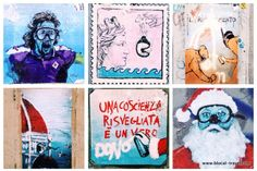 blub l'arte sa nuotare street art firenze || Read my blogpost here: http://www.blocal-travel.com/street-art/florence-off-the-beaten-path/