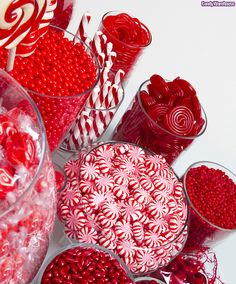 Red Candy Buffet posted at Flickr by candywarehouse