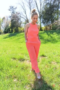 For those days that you want to look amazing and chic in no time, Jumpsuits are the perfect fit.    #coraljumpsuit #jumpsuits