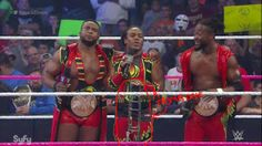 WWE Monday Night RAW October 5, 2015 #TheNewDay get really serious as they take down #CENA and others as #RAW invades #Boston on the way to #Hell #WWE  #NXT #WARWeekly