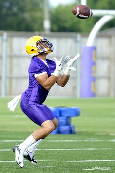 LSU first practice: Tyrann Mathieu, the Honey Badger is getting ready to take what he wants