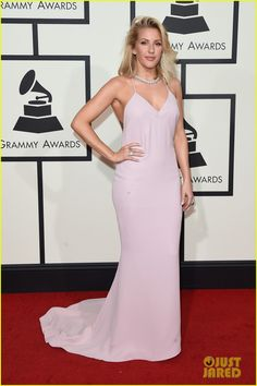 Ellie Goulding Stuns at Grammys 2016!: Photo #929603. Ellie Goulding is pretty in pink while arriving for the 2016 Grammy Awards held at the Staples Center on Monday (February 15) in Los Angeles. The 29-year-old…