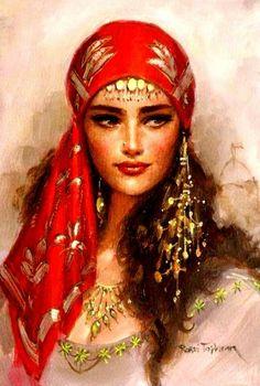 true vintage gypsy love those earings