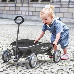 Toy Wagon, Baby Strollers, Nursery, Baby Shower, Toys, Children, Metal, Gift Guide, Black
