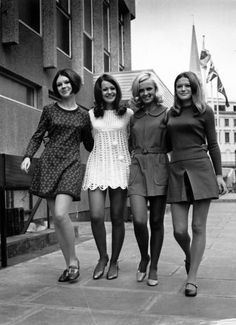 in love with the & - Alte Fotos, Mode - vintage 60s And 70s Fashion, Mod Fashion, Fashion Mode, Vintage Fashion, Street Fashion, Sporty Fashion, London Fashion, Latest Fashion, 1967 Fashion