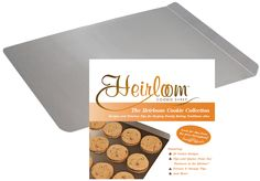 Enter to win an Heirloom stainless steel cookie sheet and cookbook! #giveaway #food