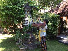 Blessing by Komang at Villa Sinar Cinta house temple