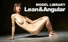 I found this model online and was struck not only by her lean, muscular body, but also by her sense of self, as reflected in the confident, athletic poses she presents to us. Here's ten images that are sure to inspire a Great Nude from one of you artists!
