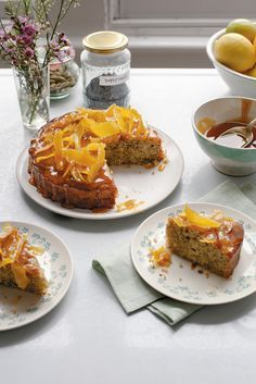 The Pool   Food and home - Cardamom Lemon Drizzle