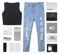 """""""a land with no name"""" by kristen-gregory-sexy-sports-babe ❤ liked on Polyvore featuring NARS Cosmetics, Christian Dior, Acne Studios, CASSETTE and bathroom"""