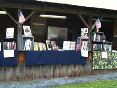 Casemate' Stand at the World War II Event in Morgantown.