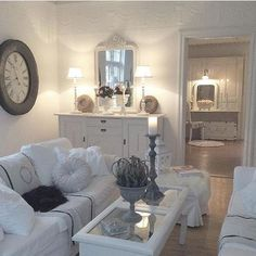 White Color Living Room_41