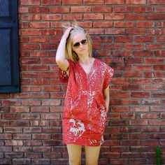 "Closet Case Patterns (@closetcase.patterns) on Instagram: ""This is one of my favourite Charlie caftans ever! Love the mini version in this splatter print…"""