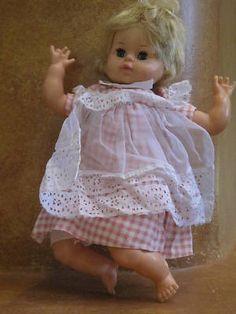 Vintage 1961 Horsman Baby Doll 20 Quot Vinyl Thirstee Baby
