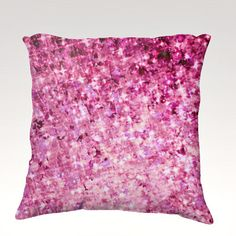 ROMANCE ME Fine Art Velveteen Throw Pillow Cover, Decorative Home Decor Colorful Pretty in Pink Radiant Orchid Purple Ombre Fine Art Toss Cushion, Modern Bedroom Bedding Dorm Room Living Room Style Accessories  by EbiEmporium, $75.00
