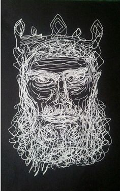 Continuous line drawing - White Ink Continuous Line Drawing, White Ink, Art Techniques, Drawings, Artwork, Inspiration, Biblical Inspiration, Work Of Art, Auguste Rodin Artwork