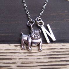"-""Bulldog necklace"" - BD Luxe Dogs & Supplies - 1"