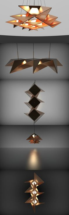 ORIGAMI OBSESSION... Read more at Yanko Design