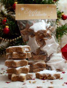 Cinnamon Star Cookies (Zimtstern) - Step by step recipe - Recettes - Biscuits Star Cookies, Biscuit Cookies, Cake Cookies, Christmas Cooking, Christmas Time, Xmas, Desserts With Biscuits, Savoury Cake, Clean Eating Snacks