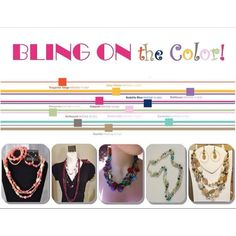 Bling on the color